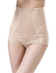 algodón / lycra cintura alta moda que forma las bragas atractivas de la talladora de la ropa interior
