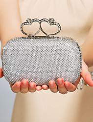 Polyester Wedding/Special Occasion Clutches/Evening Handbags With Rhinstones(More Colors)