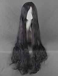 Leiche Dämon shiki Kirishiki sunako langen lockigen Perücke schwarz grau