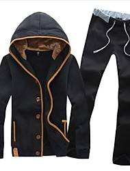 Men's Fashion Casual Hoodies Suits