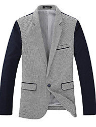 Men's Coats & Jackets , Cotton/Polyester Casual SMR