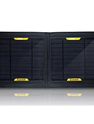 salida usb 7w cargador solar portátil plegable batería externa para el samsung nokia sony htc etc