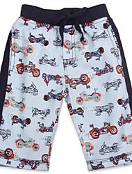 pantalones de verano playa de los niños de la motocicleta en general trajes de baño impreso pantalones de moda casual de impresión al azar