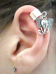 Earring Clip Earrings Jewelry Daily / Casual Alloy Silver