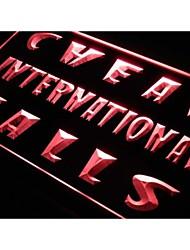 j999 Cheap International Calls Phone Neon Light Sign