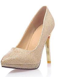 tacón de aguja zapatos de punta en punta de las mujeres (más colores)