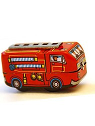 Tin Fire Engine Wind-Up Toys for Collection