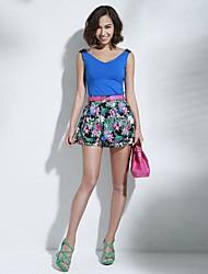sexy print calça floral das mulheres joannekitten®