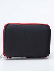 """Protective EVA + Nylon Sleeve Case Bag Cover w/ Strap for Ipad MINI / 7"""" Tablet PC - Black"""