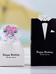 Tuxedo & Gown Favor Box (Set of 12)