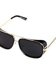 100% UV400 Men's Aviator Alloy PC Classic Sunglasses