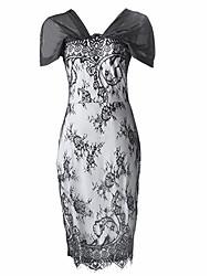 elegante vestido de renda Dolce mulheres