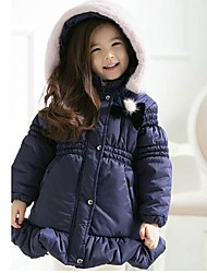 Girl's Cotton Down & Cotton Padded , Winter Long Sleeve