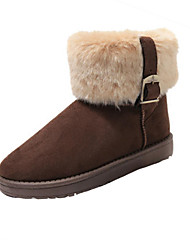 cálidas botas cortas nieve babiniu de moda femenina