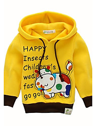 BOY'S in the spring and autumn outfit 100% cotton embroidery long sleeve clothes