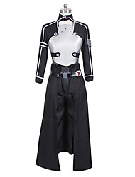 Sword Art Online Ⅱ Gun Gale Online Kirito Fighting Suit Cosplay Costume EVA Breastplate Included