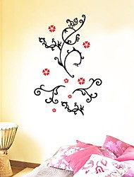 Wall Stickers Wall Decals, Flower Mural Home Decor Vinyl Poster PVC Wall Stickers