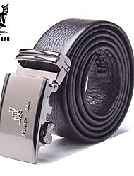 Pouch Kan®Men's Fashion and Business Cowskin Automatic Buckle Belt