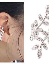 Mulheres Punhos da orelha Amor Casamento bijuterias Estilo bonito Europeu Liga Formato de Flor Jóias Para Casamento Festa Casual