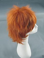 k Yata Misaki laranja peruca curta cosplay