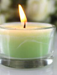 8 часов продолжительностью зеленый чай масло парафин свечи, Антибактериальная, течки-продвижения, очищающий и pacificating
