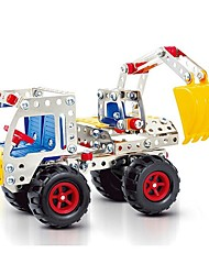 Magical Model DIY Intellectual Development Stainless Alloy Assembled Toy Engineering Truck Mechanical Digger (240PCS)