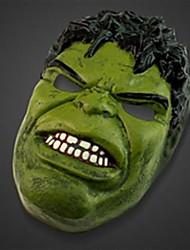 le masque hulk en plastique pour halloween