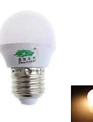 Lampadine globo 8 SMD 2835 Zweihnde G E26/E27 3 W Decorativo 280-300 LM 3000-3500 K Bianco caldo AC 100-240 V