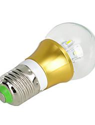 E27 5W 10x5630 smd 450lm 3000K warm wit licht LED lamp (AC 85 ~ 265V)