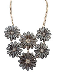 European Style Summer Small Fresh Flower Necklace(More Colors)