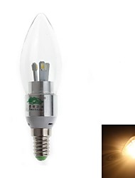 Ampoules Bougie Décorative Blanc Chaud Zweihnde C E14 3 W 6 SMD 280-300 LM 3000-3500 K AC 100-240 V
