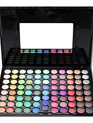 Professional 88 couleurs ultra shimmer fard à paupières palette avec miroir