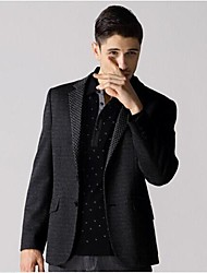 Men's The Business Model of Cultivate One's Morality  Senior Brand  Wool Suit