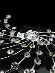 Personalized Gorgeous Rhinestones/ Imitation Wedding Bridal Combs