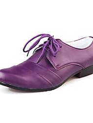 TPU Purple Dress Shoes