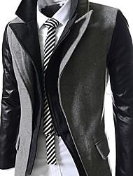 x-man-Männer nehmen Tweed-Jacke zwei Stück wie