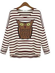 camisa de patrón de estilo de la ciudad de las mujeres