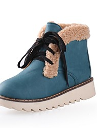 botas de los zapatos de nieve de las mujeres del dedo del pie redondo botines de tacón bajo más colores disponibles