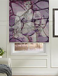 abstrato elementos modernos rolo sombra retrato