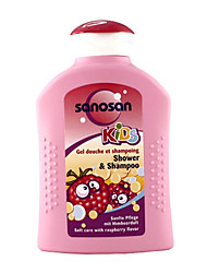 Sanosan  Shower & Shampoo - Raspberry 200ml