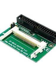 3,5 pulgadas ATA IDE de 40 pines para compact flash convertidor adaptador cf