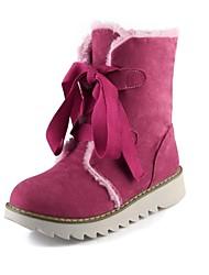 botas de los zapatos de nieve de las mujeres botas bajas de tobillo del talón con cordones más colores disponibles