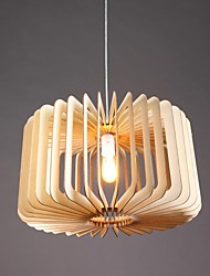 pingente luz uma luz madeira rústica pintura