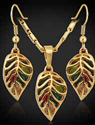New Cute Women's Drop  Earrings 18K Gold Plated Austrian Rhinestone Exquisite