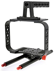 SUNRISE HSR-611 Compact Cinema Camera Cage Anti-shake Stabilizer Suitable for BMCC 2.5K/4K