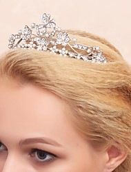 Flower Girl's Alloy/Cubic Zirconia Headpiece - Wedding/Special Occasion Tiaras
