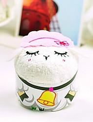 fibre de forme anniversaire de moutons cadeau serviette de création (couleur aléatoire)