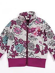 Girl's Cotton Jacket & Coat , Winter/Spring/Fall Long Sleeve