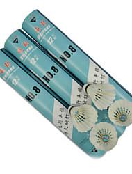 12 pz Weidong n.8 durevole palle drake piuma di badminton