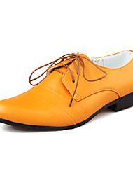 TPU Yellow Dress Shoes